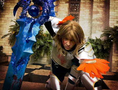 Cosplay Siegfried de Soul Calibur